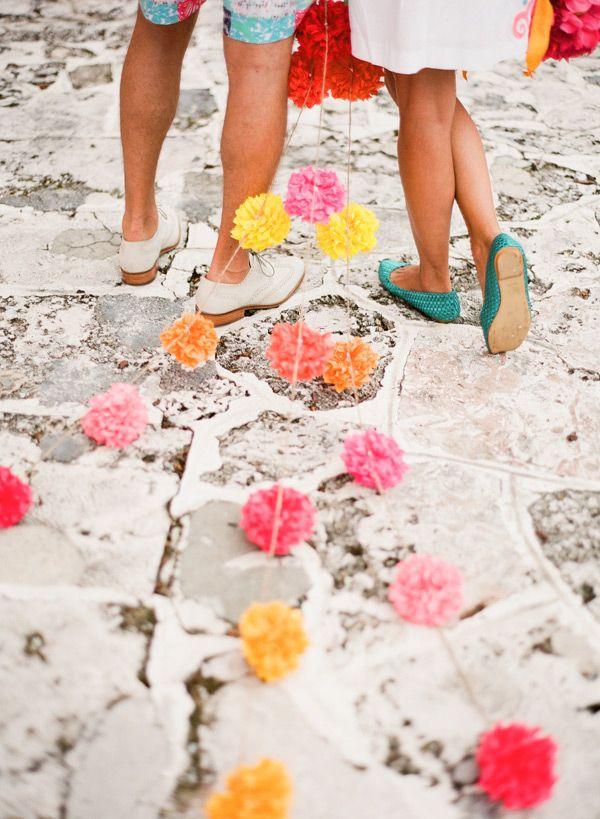pom pom getaway | KT Merry #wedding