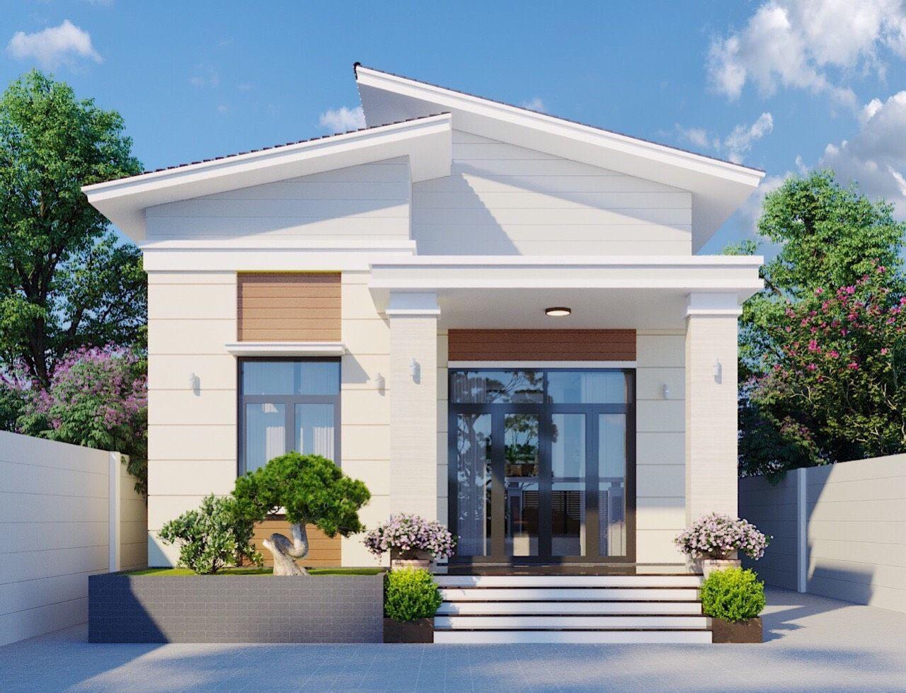 500 mẫu nhà cấp 4 đẹp 1 tầng vườn kiểu châu âu mái thái 2021 | Home  fashion, Kiến trúc, Thiết kế