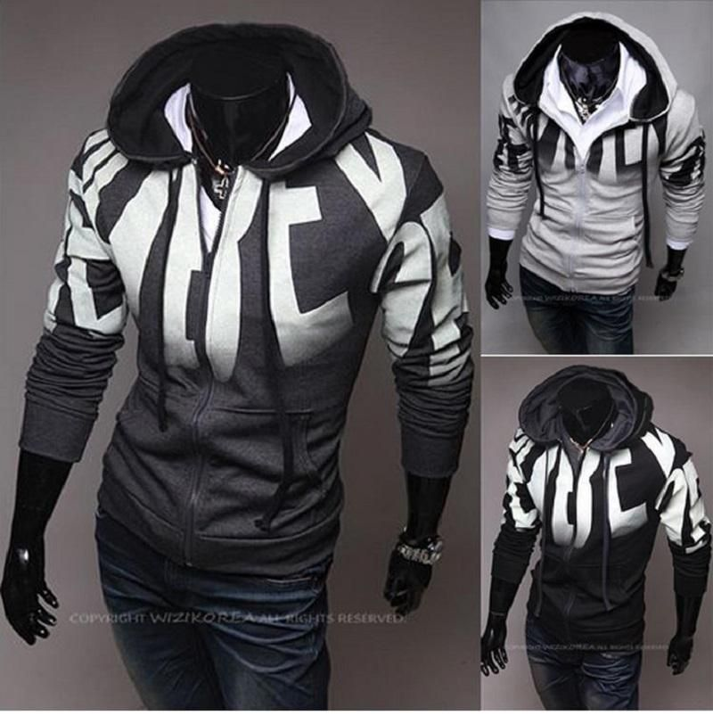 2015 New Year Cool Hoodies And Men's Hoodie Jacket Plus Size .