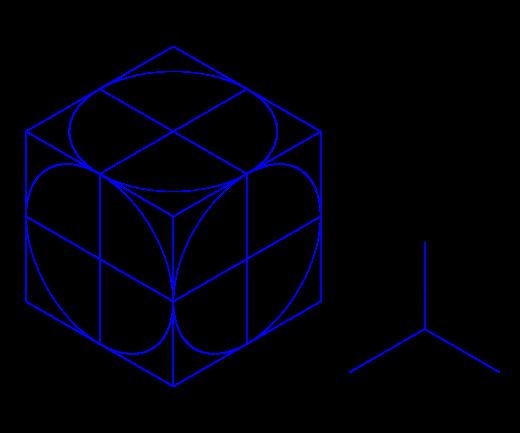 Proyeccion Isometrica Wikipedia La Enciclopedia Libre Tecnicas De Dibujo Perspectiva Vistas Dibujo Tecnico