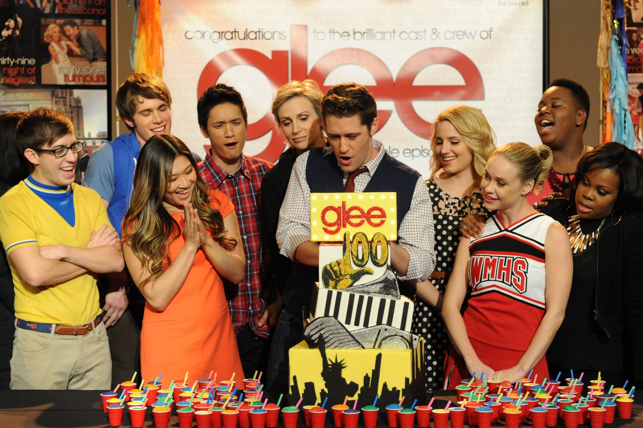 glee cast members episodes