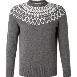 Photo of Gran Sasso sweater men, new wool, gray Gran Sasso