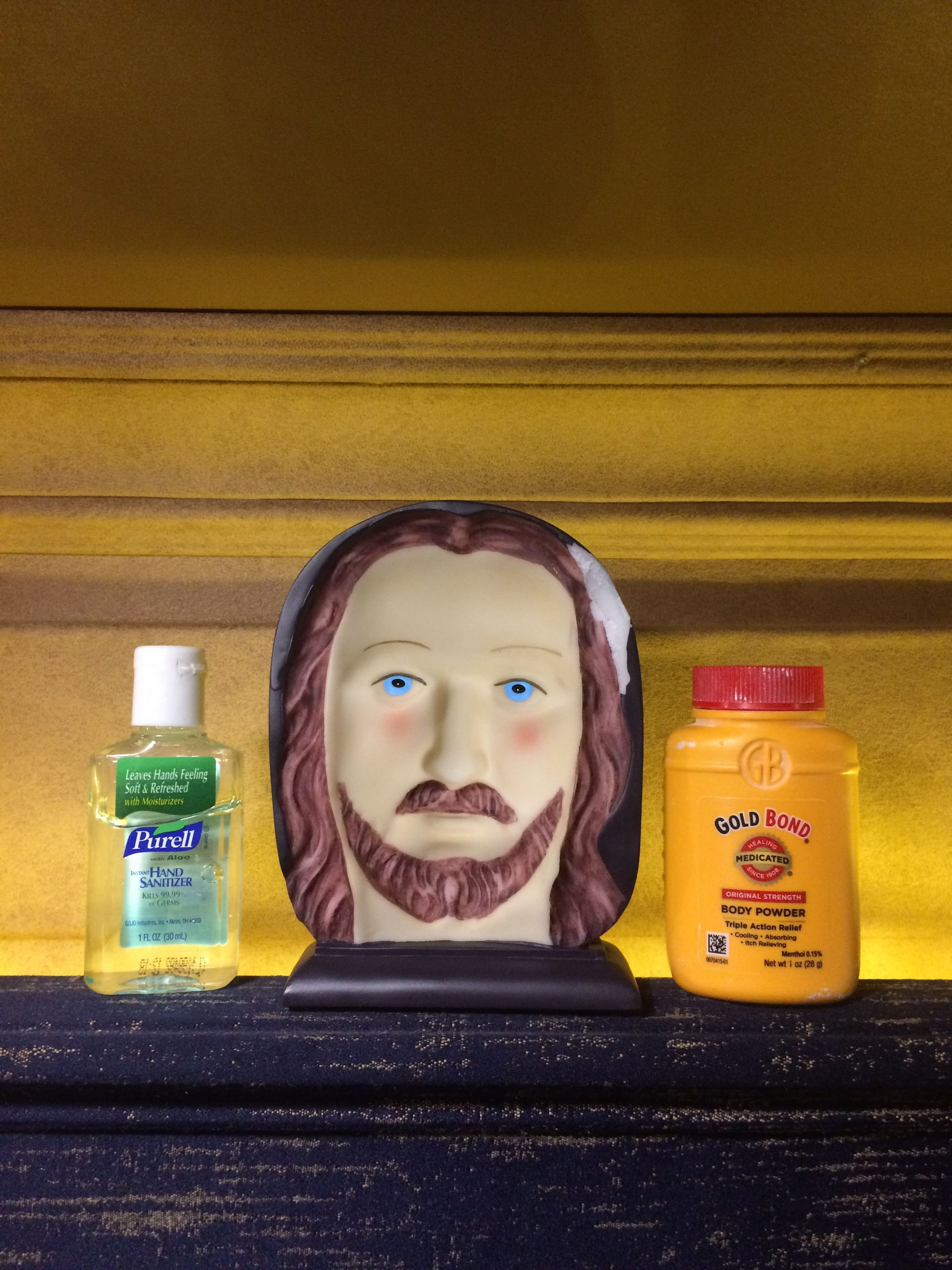 Purell Jesus And Gold Bond Trifecta The Holy Trinity Of