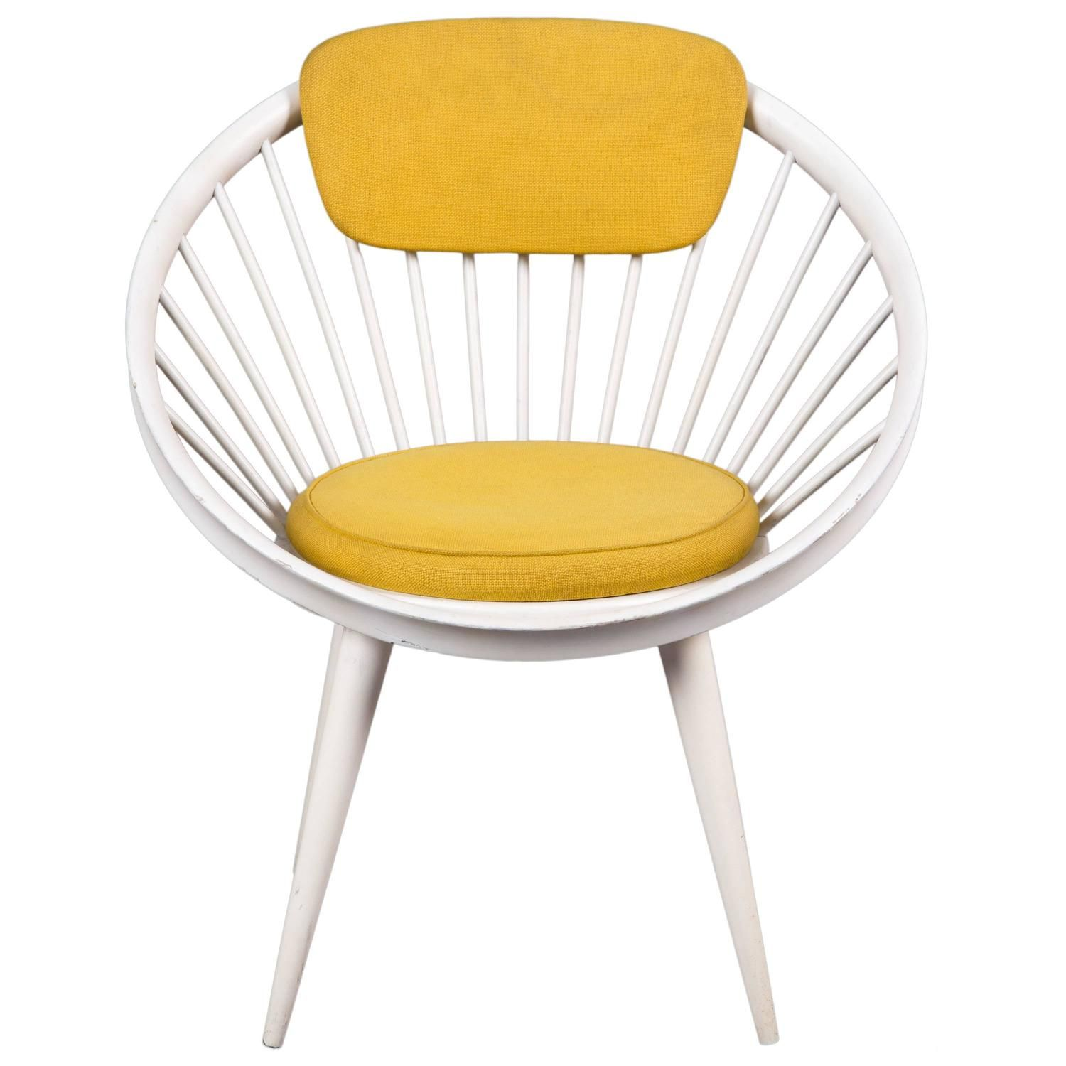 Circle Chair Designed By Yngve Ekström | From A Unique Collection Of  Antique And Modern Armchairs