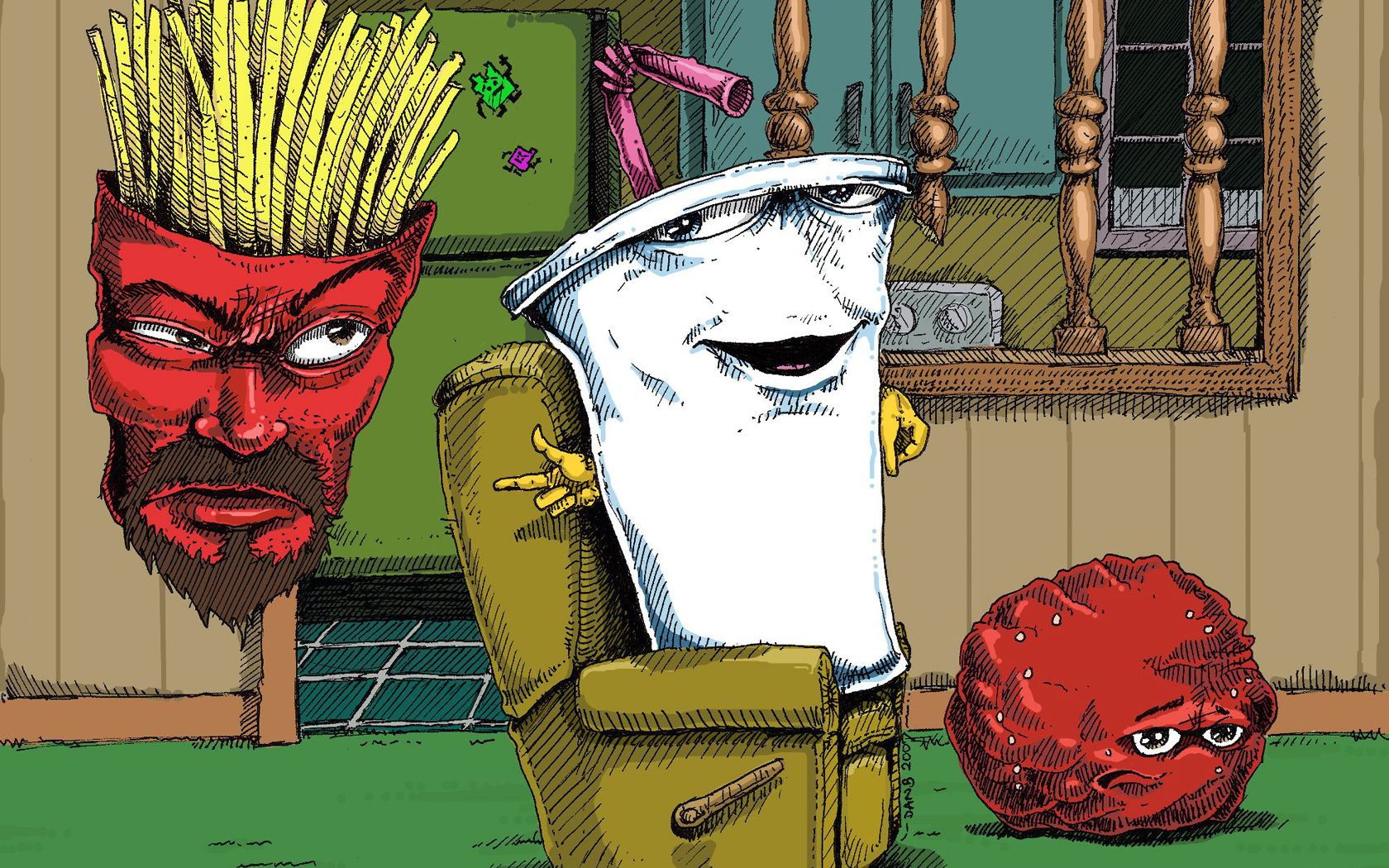 Aqua Teen Hunger Force PS2-Spiele PlayStation