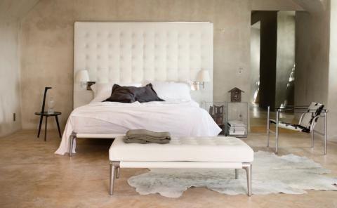 La chambre à coucher de style contemporain, selon Cassina