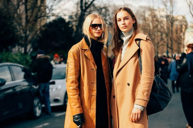Frederikke Sofie and Julia Bergshoeff in Paris
