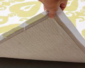 Diy Ikat Rug Diy Rug Canvas Drop Cloths Large Area Rugs