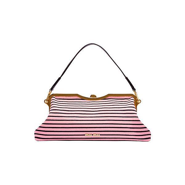 OOOK - Miu Miu - Bags 2013 Fall-Winter - LOOK 4   Lookovore found on Polyvore featuring women's fashion, bags, handbags, purses, bolsas, clutches, purse bag, miu miu handbags, miu miu purse and man bag