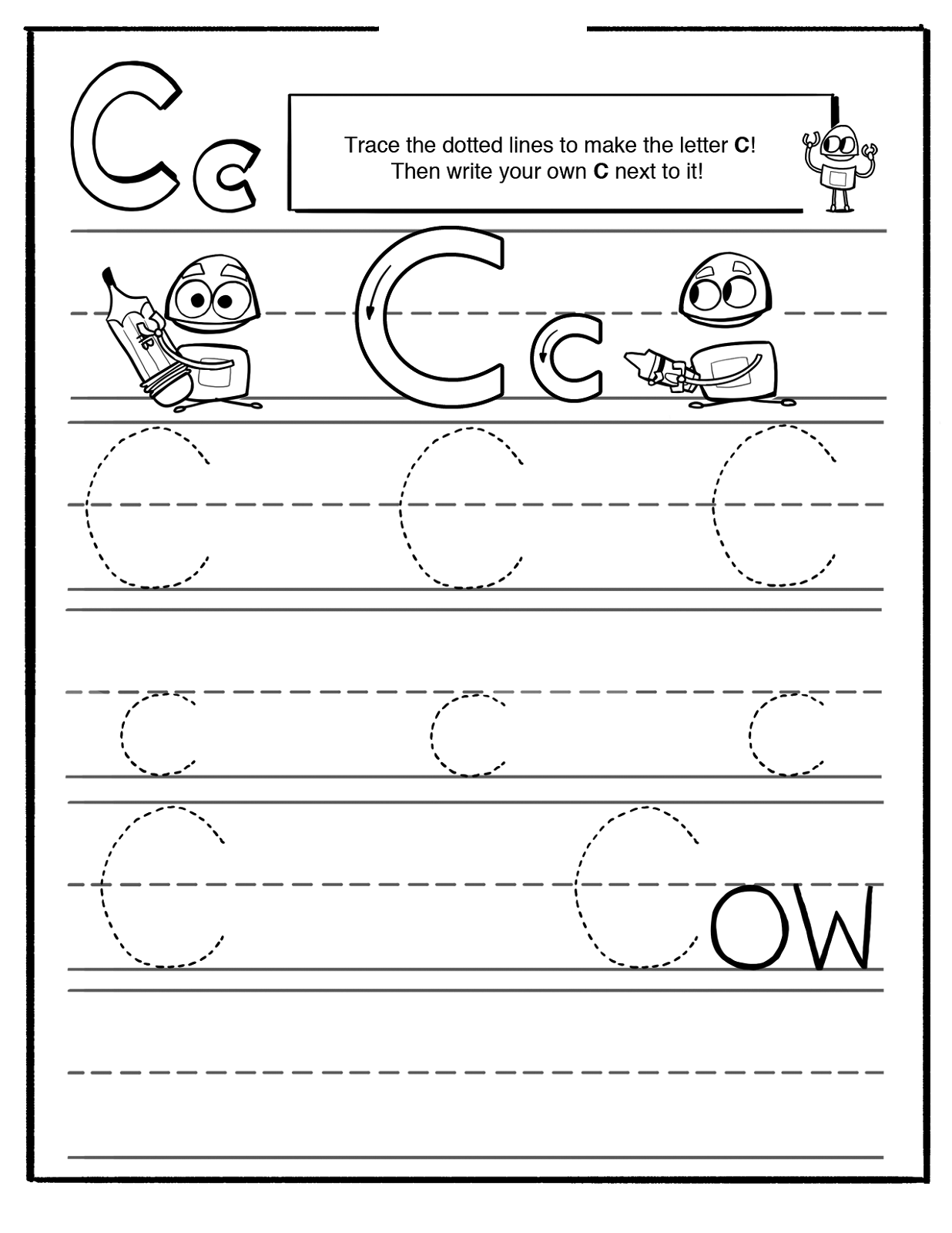 Preschool Tracing Pages With Images