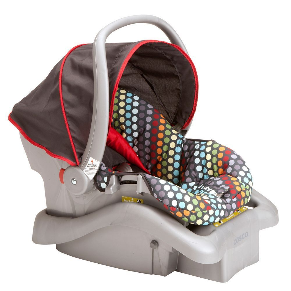 Cosco Light 'n Comfy DX Infant Car Seat, Multicolor Baby