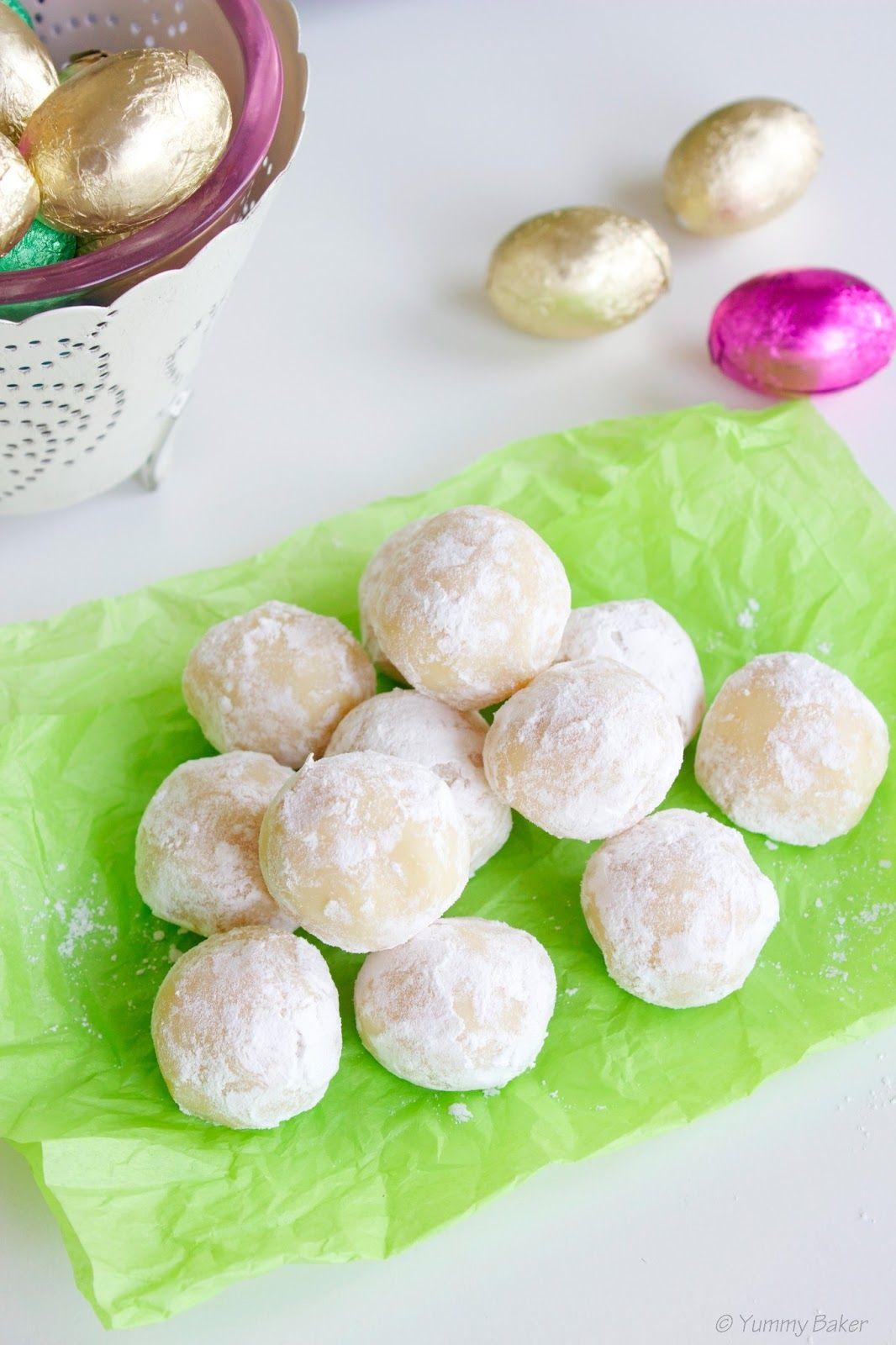 Valkosuklaa-lemon curd pallot // White chocolate lemon curd treats