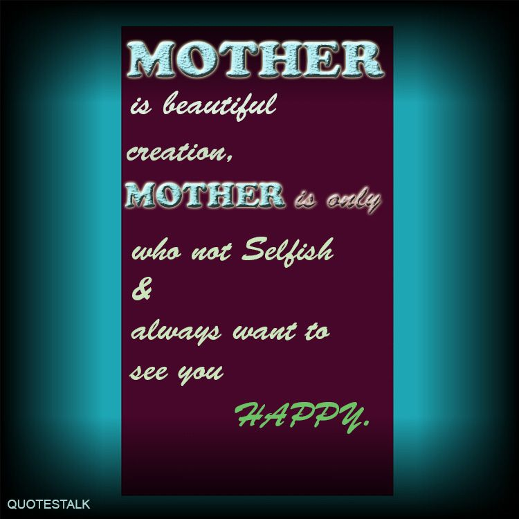 HAPPINESS is all about Mother Philosophy quotes sentence ...