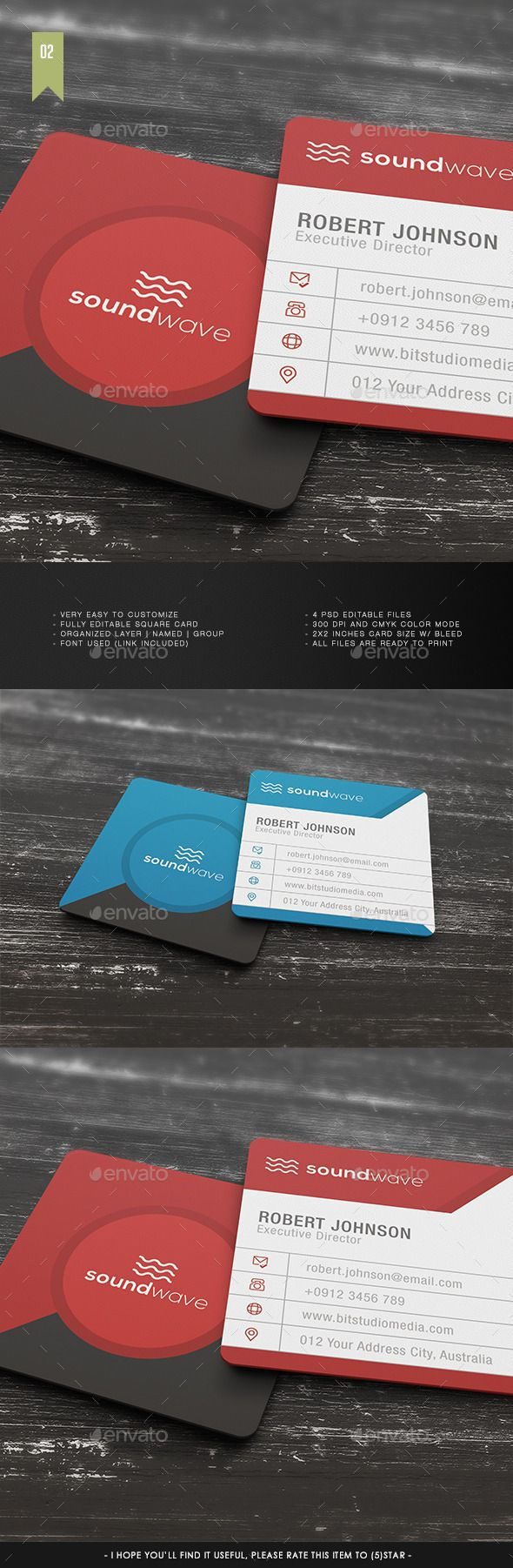Teestrimsquare Business Card Template V 002 Item Specification Very Easy To Custo Square Business Card Vertical Business Card Template Printable Business Cards