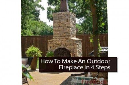 4 steps to make an outdoor fireplace outdoor inspiration diy rh pinterest com how to make an outdoor fireplace draw how to make an outdoor fireplace draw better