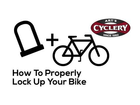 How To Properly Lock Up Your Bike Youtube