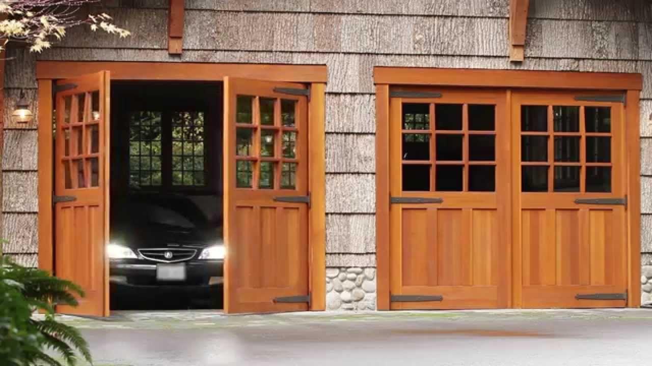 Carriage Door Automatic Electric Openers Franklin Autoswing Garage Door Design Carriage Garage Doors Garage Doors