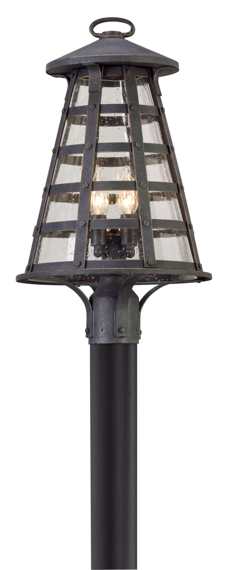 Benjamin 4 Light Outdoor Post Light