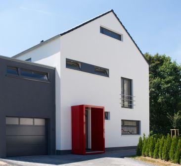 Traufdetail kein dachüberstand  Foto vergrößern | Satteldach Haus | Pinterest | Kräftige Farben ...