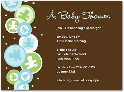 images about Very Best Baby Shower Invite Simple Design on