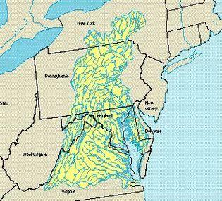 Chesapeake Bay Watershed Maryland Coastal Bay Anacostia