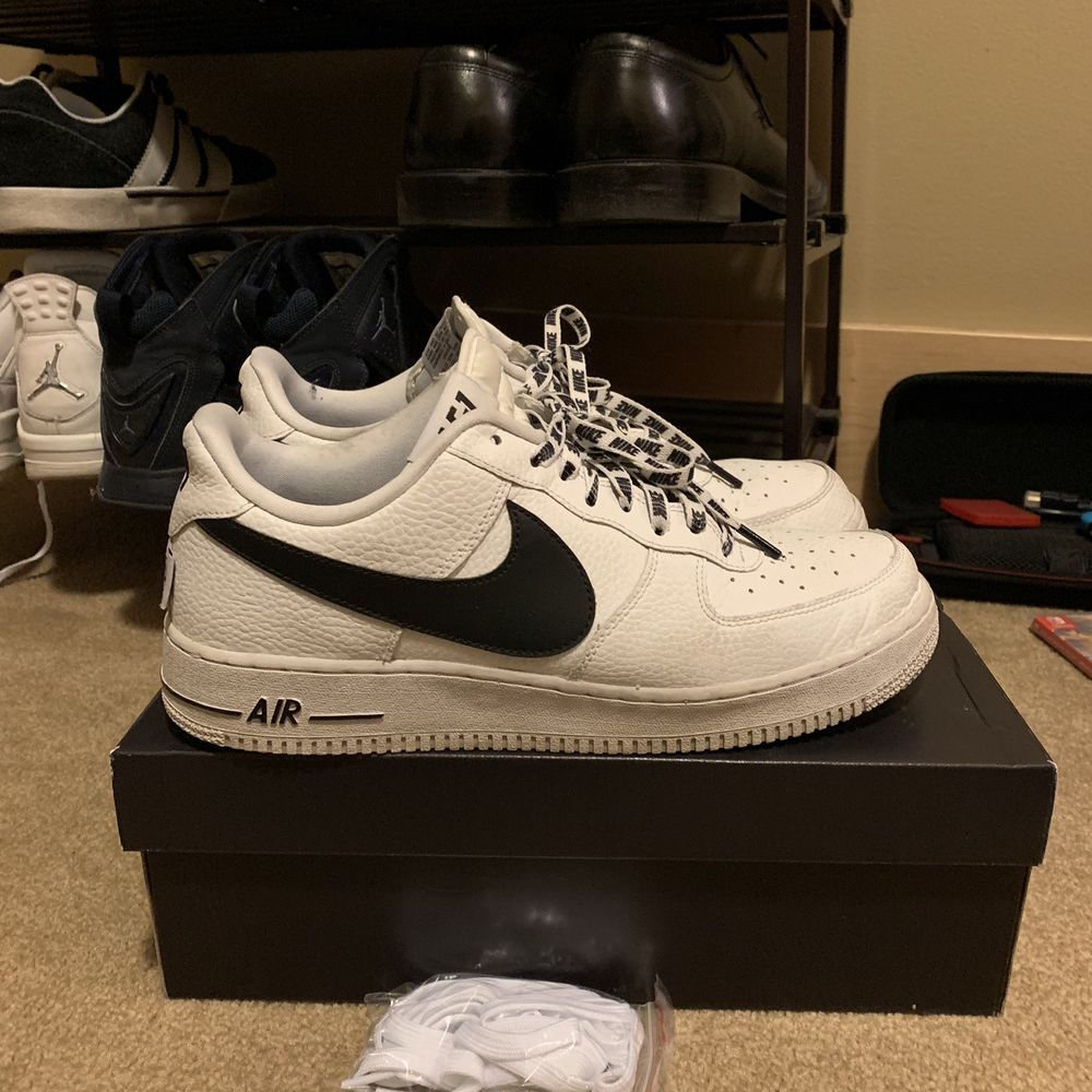 the latest fcdd9 6d237 Nike Air force 1 07 LV8 nba  fashion  clothing  shoes  accessories   mensshoes  athleticshoes (ebay link)