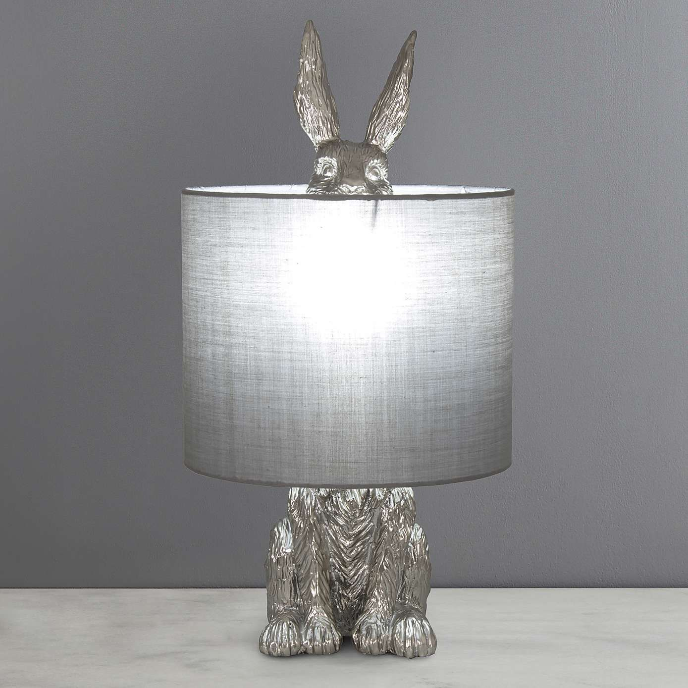 Osmoy Resin Hare Table Lamp Dunelm Lamp Table Lamp Bedside Lamp