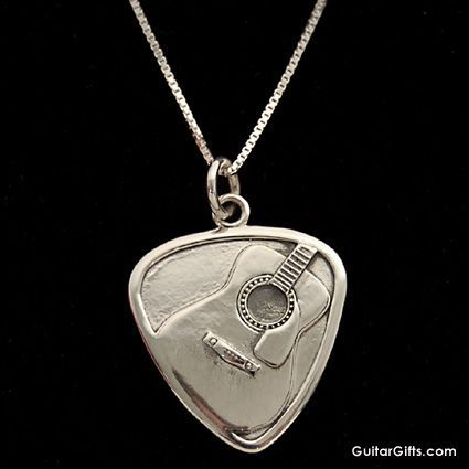 words niciart handmade aluminum pick speaks fail with necklace when guitar products music pendant large
