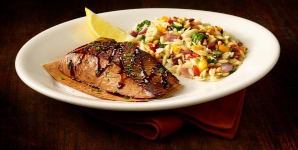 Balsamic Glazed Salmon Recipe Yumm Salmon Recipes Glazed Salmon Seafood Dinner