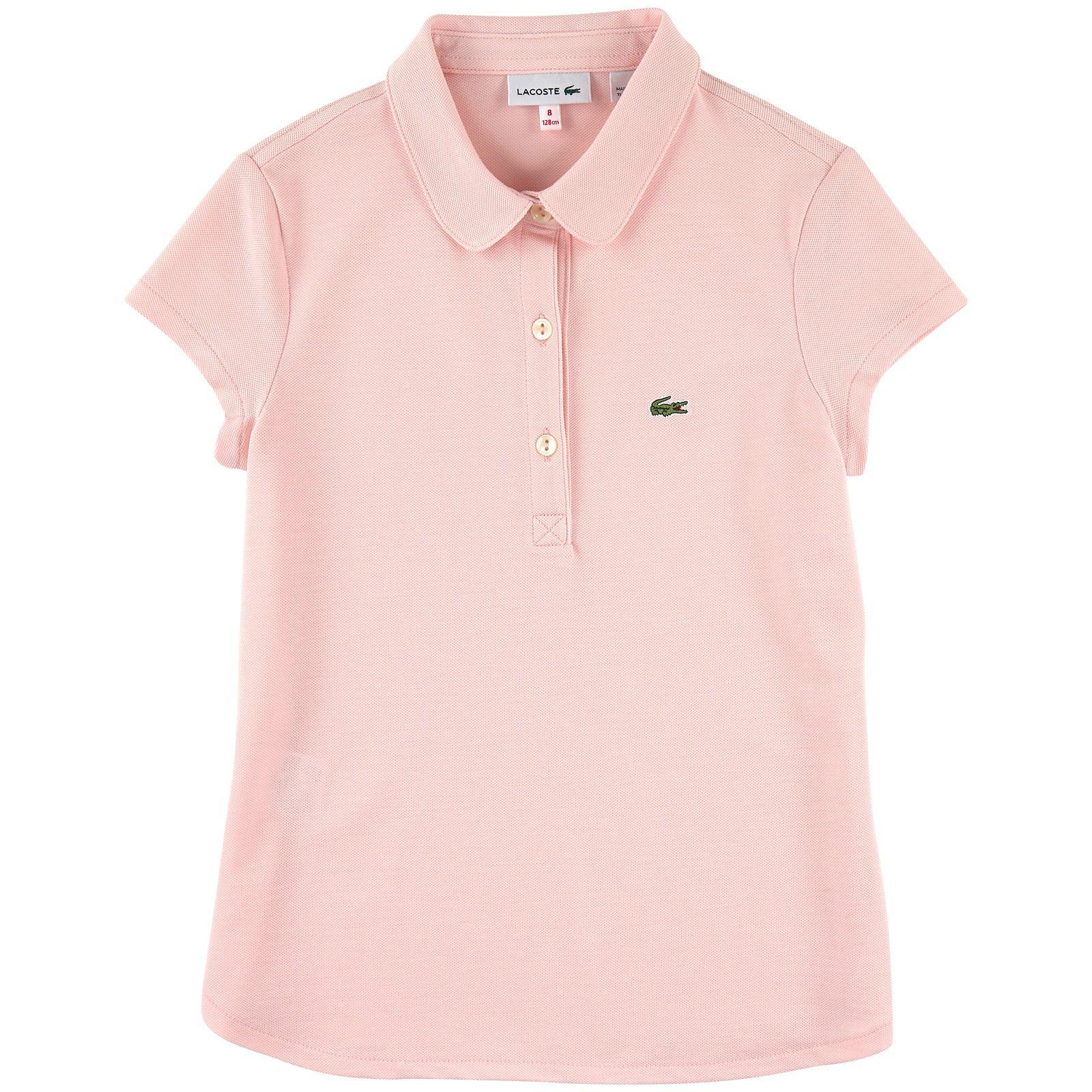 e92a21a405 Polo en piqué de coton Lacoste pour fille | Melijoe.com | Polo Shirt ...
