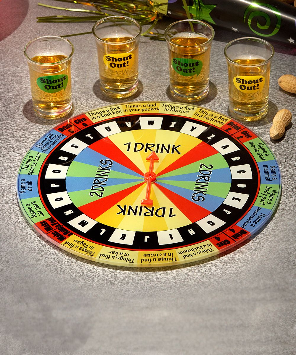 Shout Out Shot Glass Game Set Drinking games, Shot glass