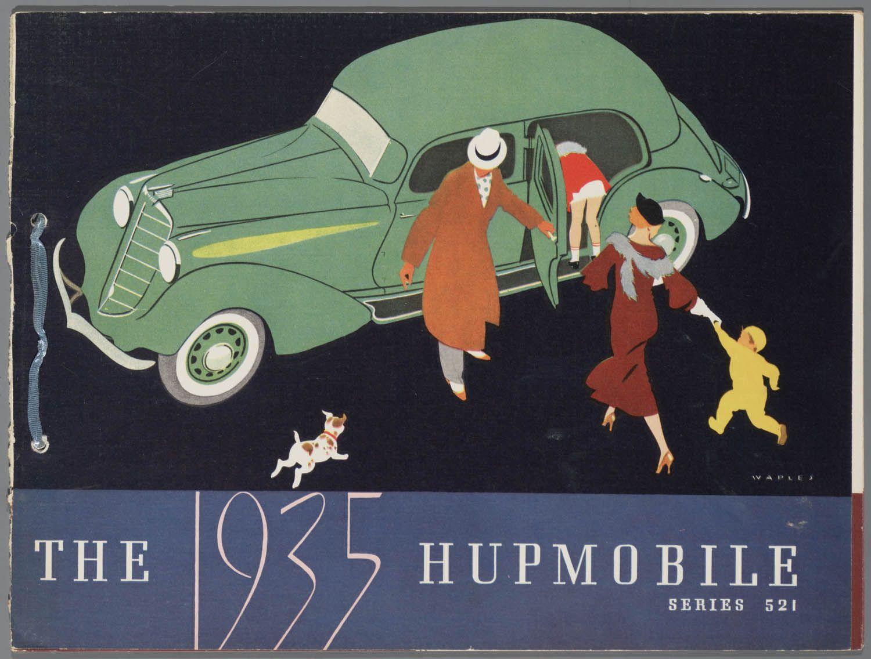 Hupmobile. 1935