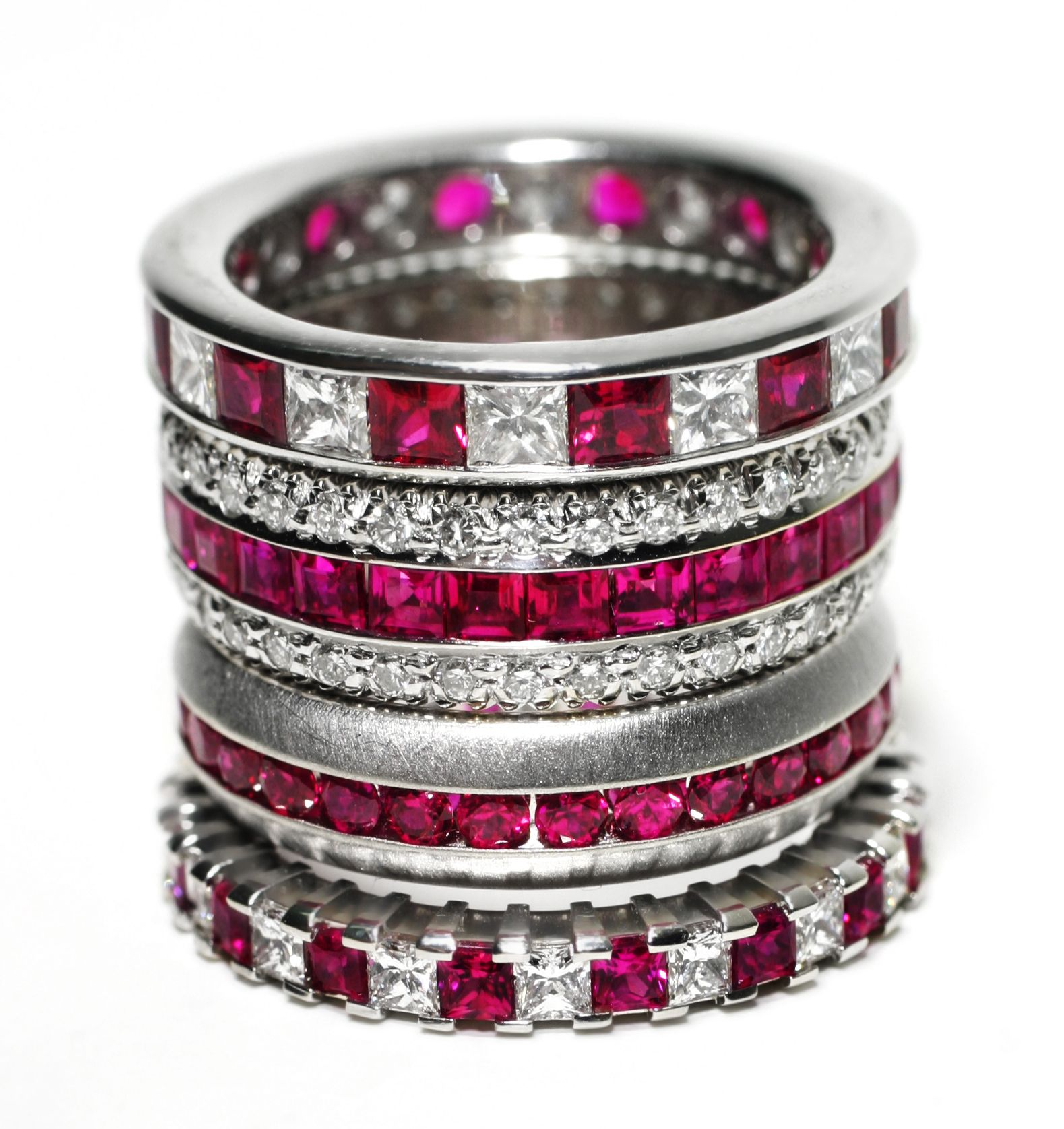 Ruby and diamond rings bejewel my heart pinterest diamond and ring