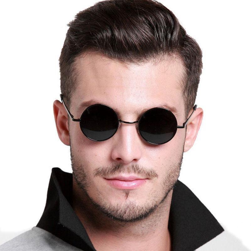 3 Pc John Lennon Style Vintage Classic Circle Round Sunglasses Men Women Purpl P