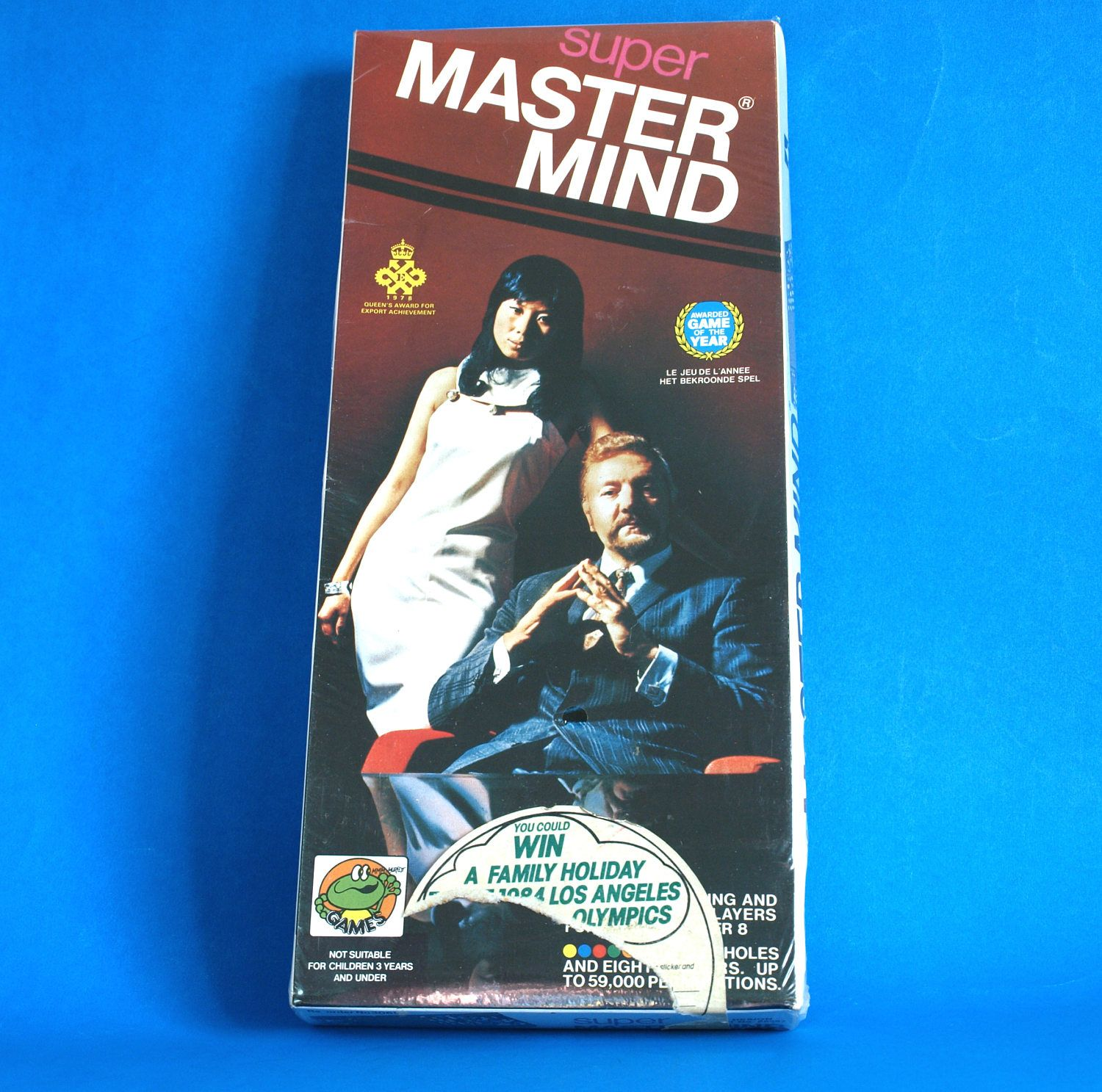Super Mastermind Game Vintage Retro 1978 Master Mind