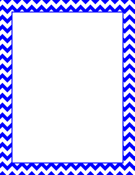 printable blue chevron border free gif jpg pdf and png downloads at httppagebordersorgdownloadblue chevron border eps and ai versions are also