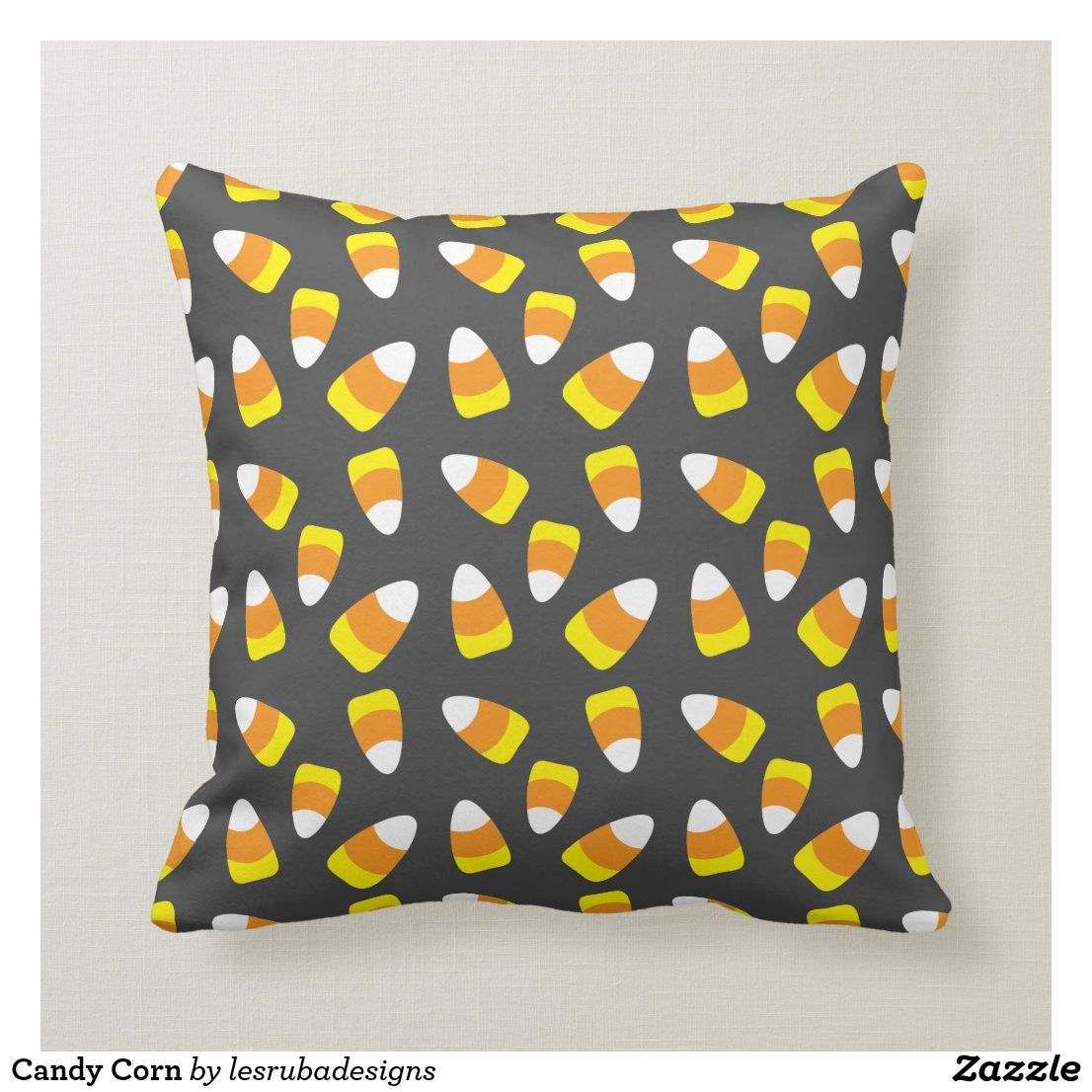 Candy Corn Throw Pillow in 2020 Halloween