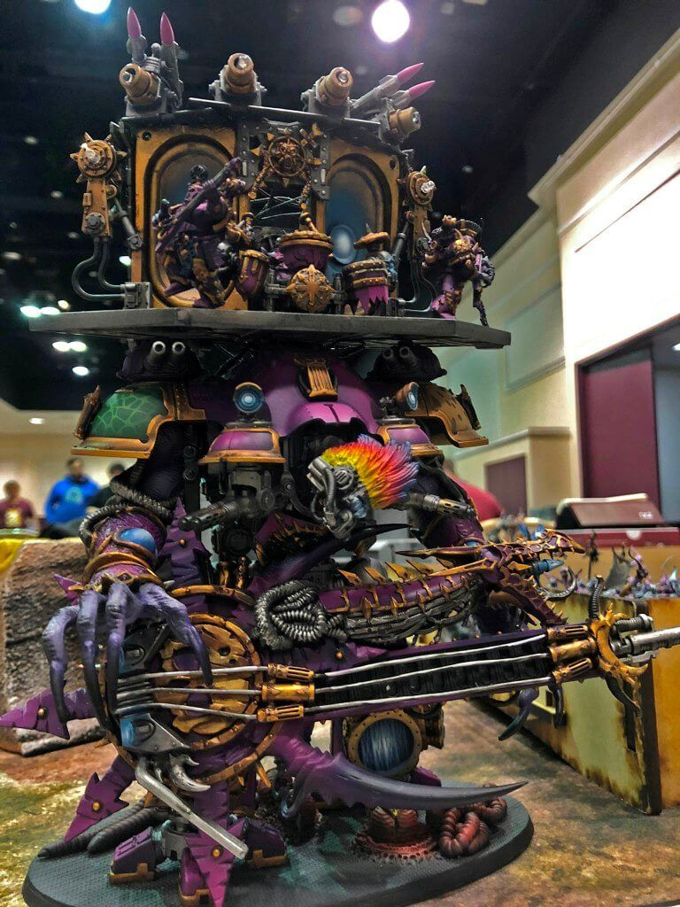 Over the Top Warhammer 40k Armies At LVO 2019 - Spikey Bits