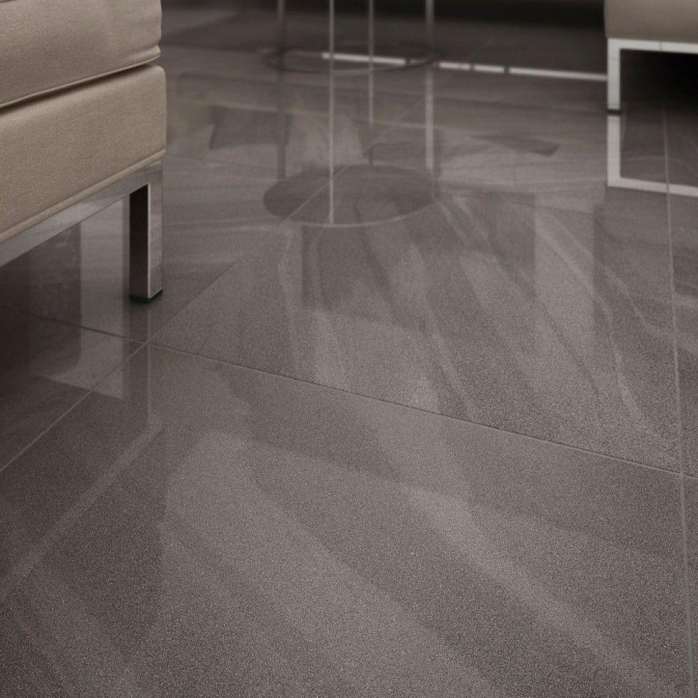 grey polished floor tiles gurus floor. Black Bedroom Furniture Sets. Home Design Ideas