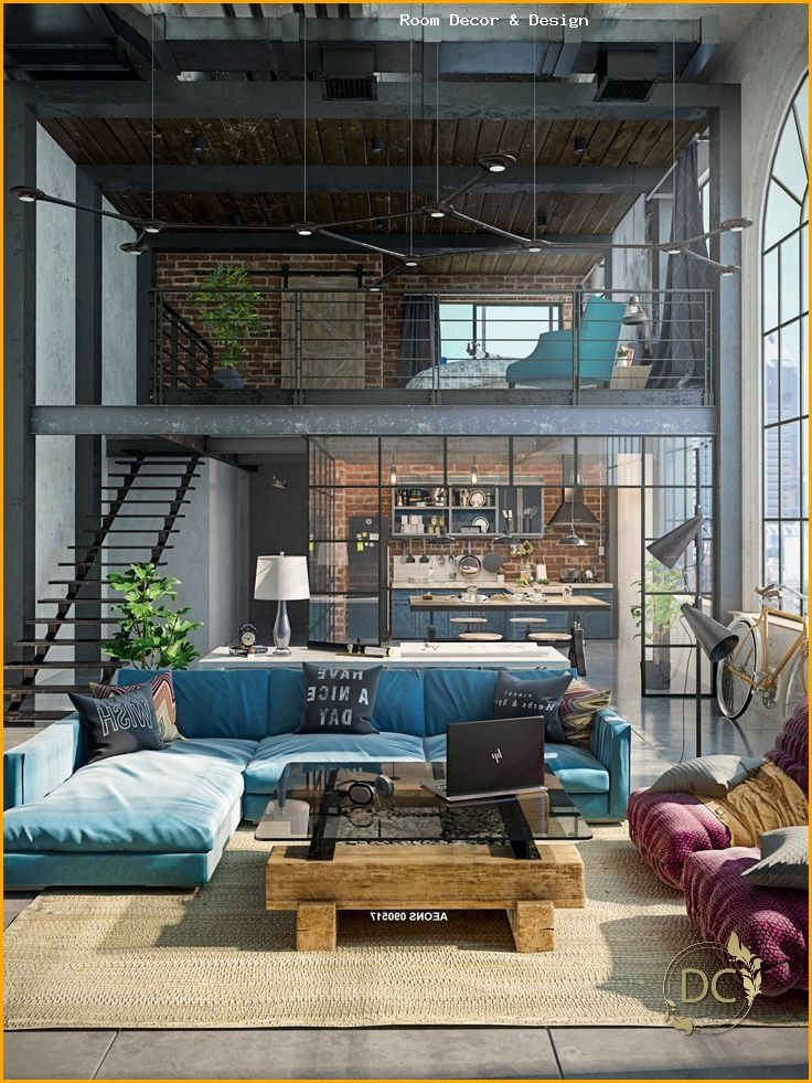 32 stylish interiors that all men will love - Salvabrani - #interiors #loft #Love #Me ... - h...