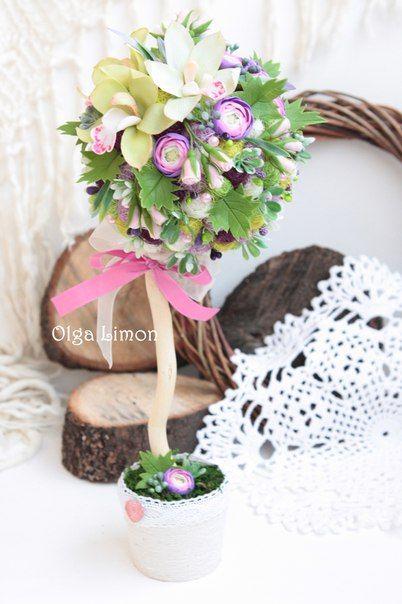 Фотографии Ольга Лимон. Топиарий, елки, цветы, магниты ...