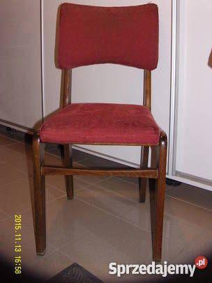 Krzesła Krzesełka 100 Prl Lata 6070te Typ S3 Z Dom I Ogród