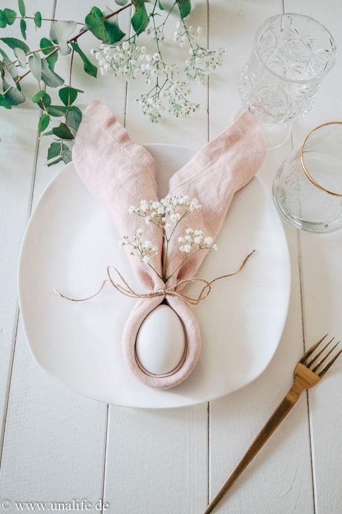 Einfache Oster DIY's für einen hübschen Ostertisch – Unalife