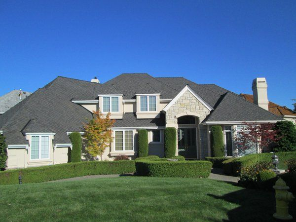 Best North Creek Roofing On Shadows Gray And Shake 400 x 300