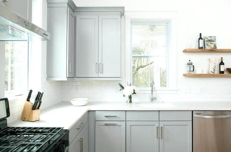 Dove Grey Kitchen Cabinets Dove Grey Kitchen Ideas Grey Kitchen Colors Grey Kitchen Kitchen Cabinets