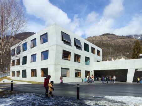 ECOLE PRIMAIRE by meyer architecture as Architects