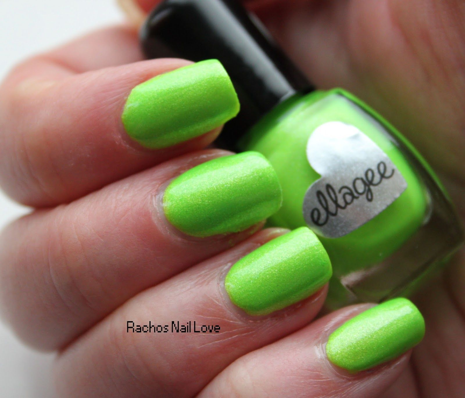 Ellagee - Lime-O-Rama from her neon shimmer 1985 collection. GREEN ...
