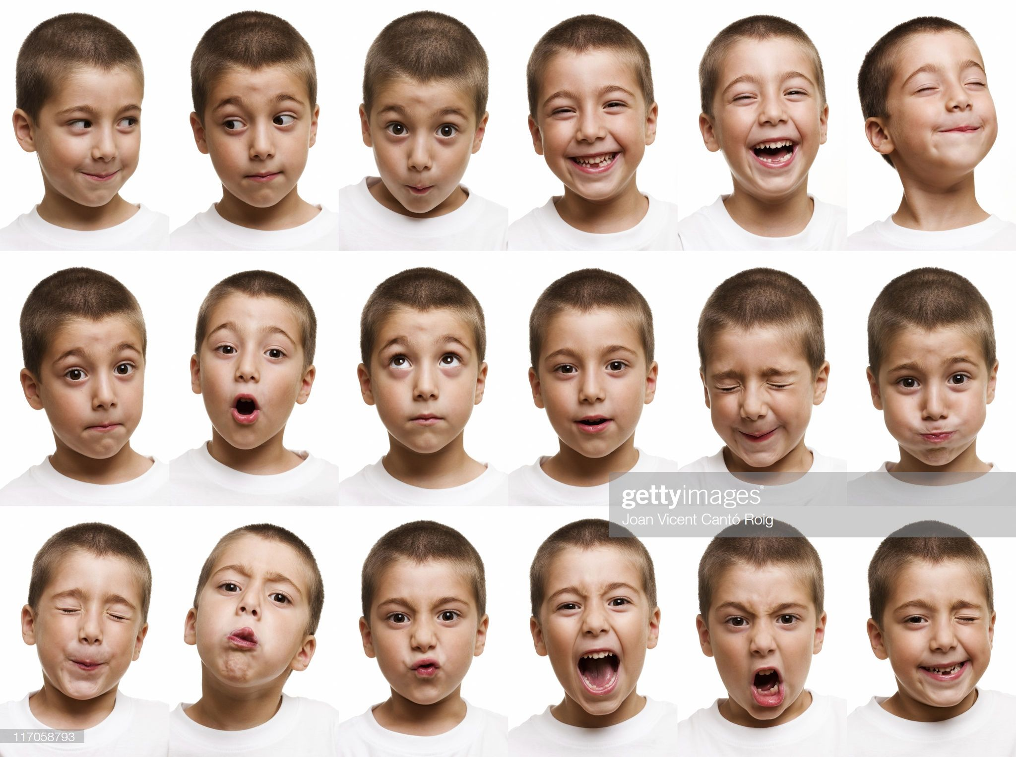 The Thousand Expressions Of A Child In