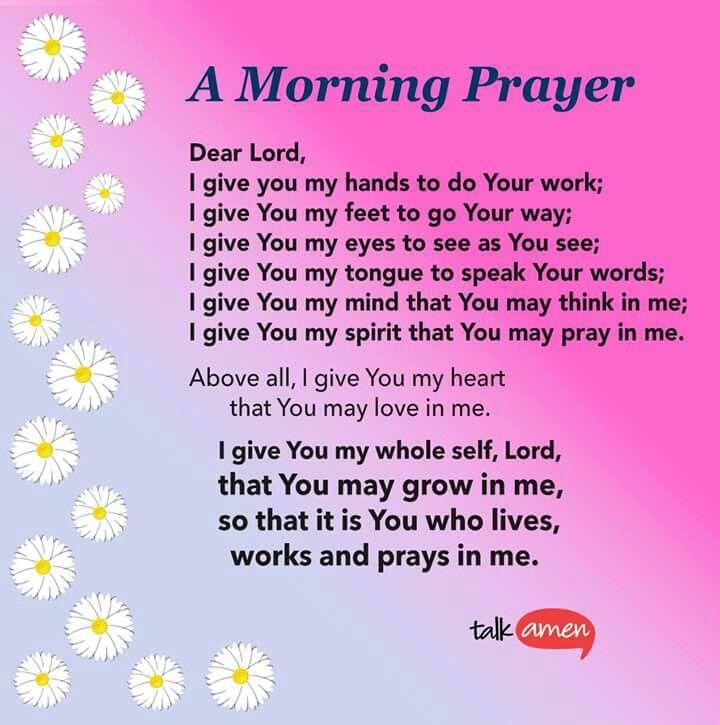 Good Morning Family Prayer : Talk amen scripture inspiration pinterest
