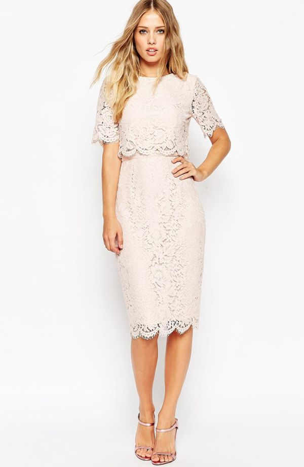 The Loveliest Little Lace Dresses For Spring Asos Lace Dress Lace Dress Lace White Dress